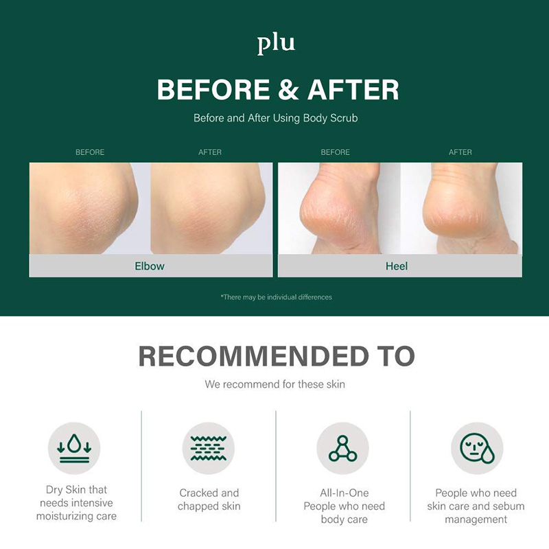 plu before & after